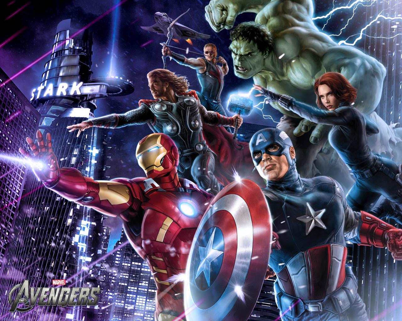 Avengers Wallpaper: Marvel's The Avengers Wallpapers