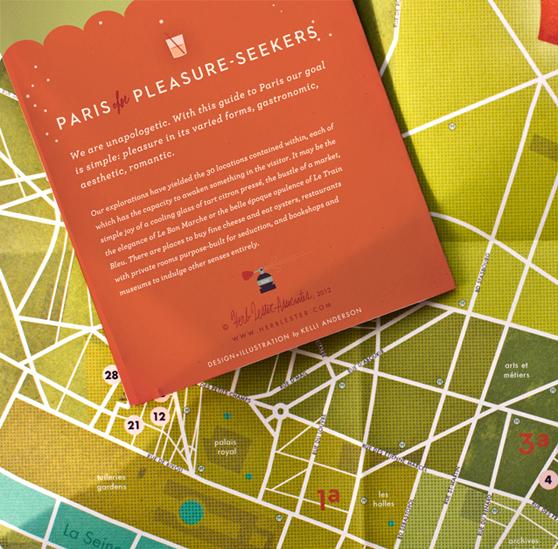 Paris Map Back