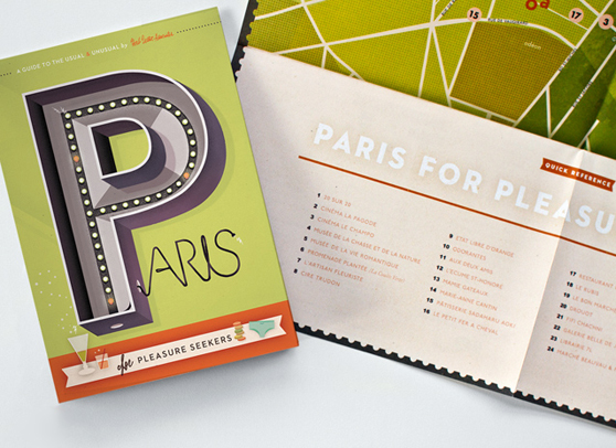 Paris Map With Cover