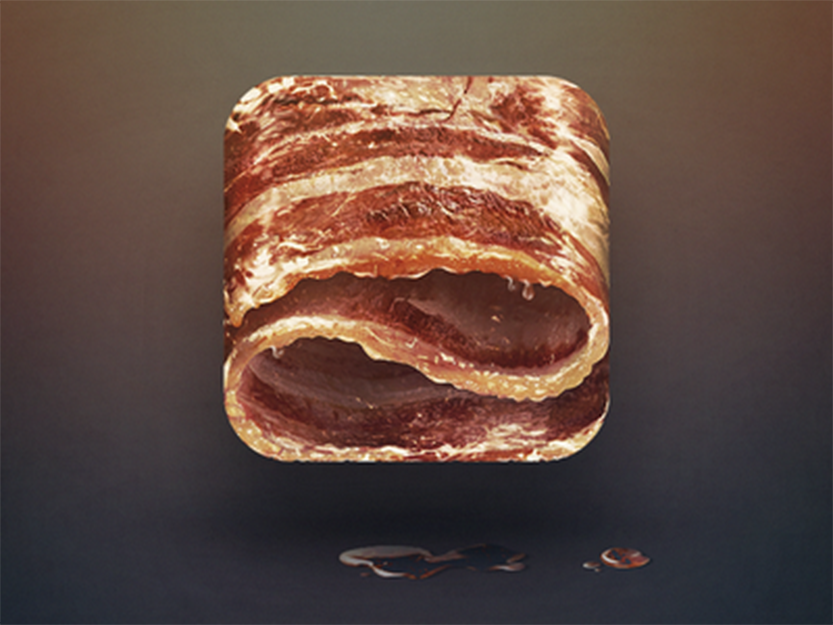 Bacon by Eddie Lobanovskiy
