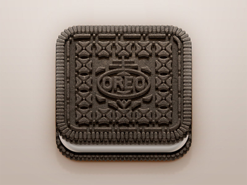 Oreo iOS Icon by Román Jusdado