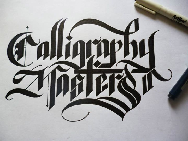 Beautiful examples of calligraphy  Kristelvdakker  Kristelvdakker