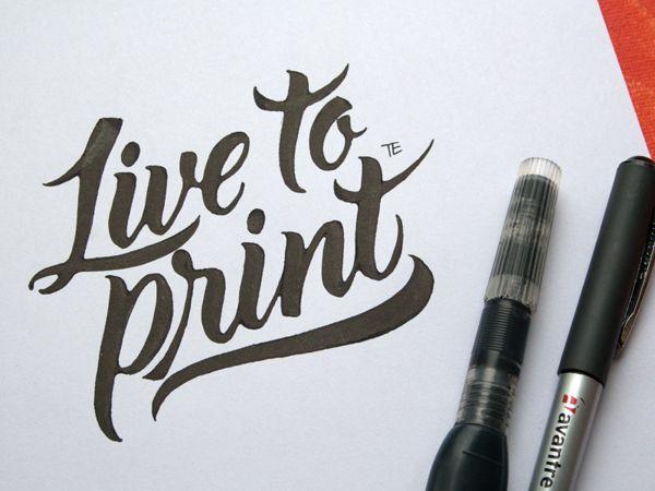 Live to Print by Evgeny Tkhorzhevsky