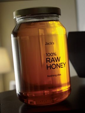 Jack's Raw Honey Packaging