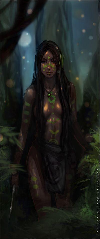 Commander Kalífima Ukuchatari / Silent Forest by aditya777