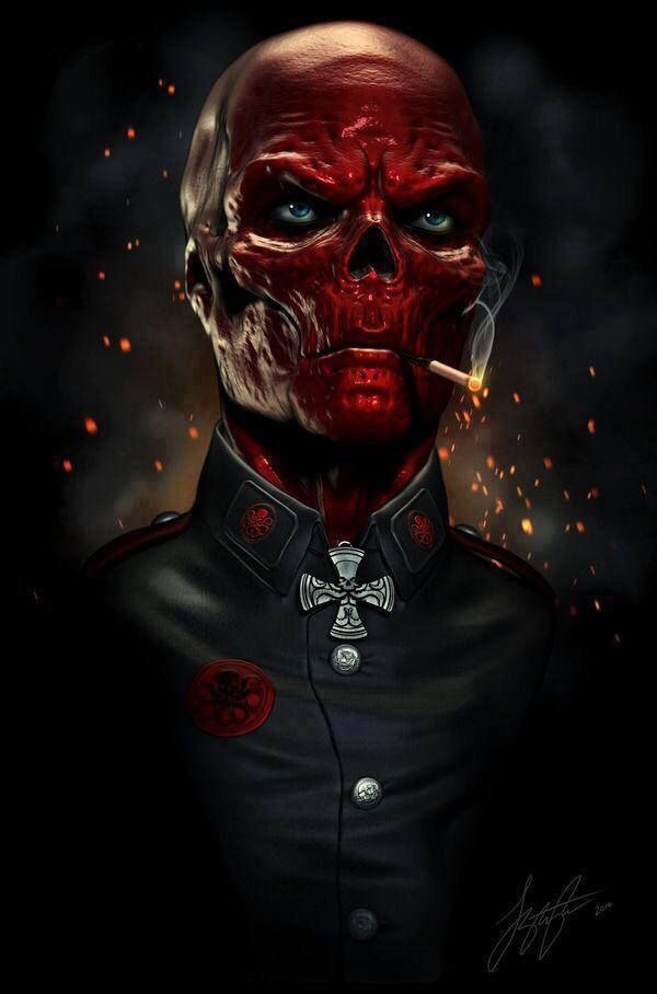 Red Skull from the Marvel series