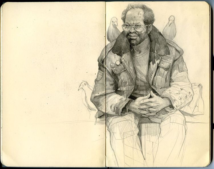 Sketchbook by Wesley Burt