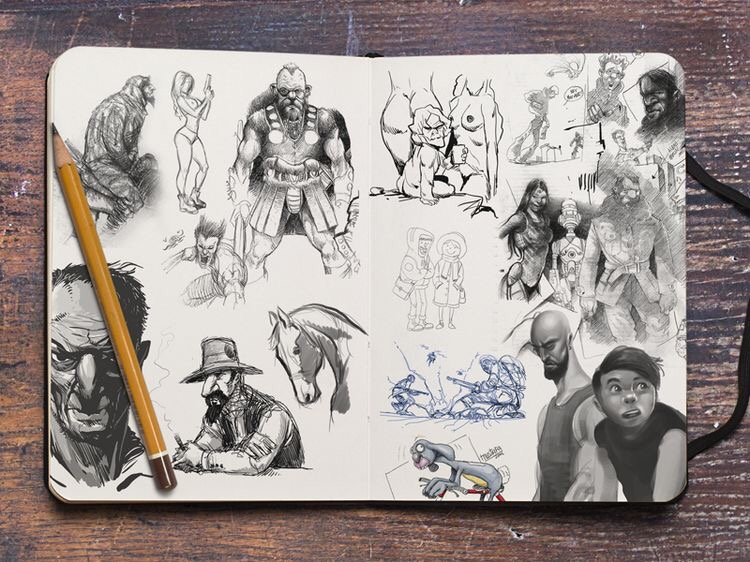 Sketchbook Pt.II by Mustafa Kural
